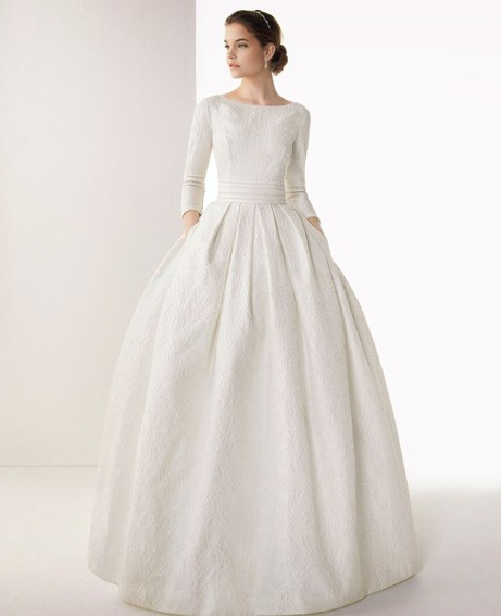 Wedding dresses for Autumn/Winter